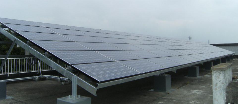 土浦市新治中学校太陽光発電設備設置工事