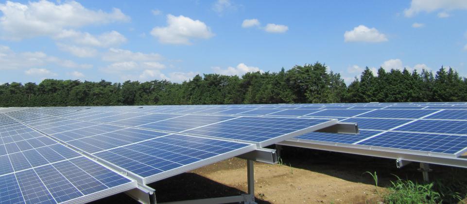 つくば市柳橋地内太陽光発電設備設置工事